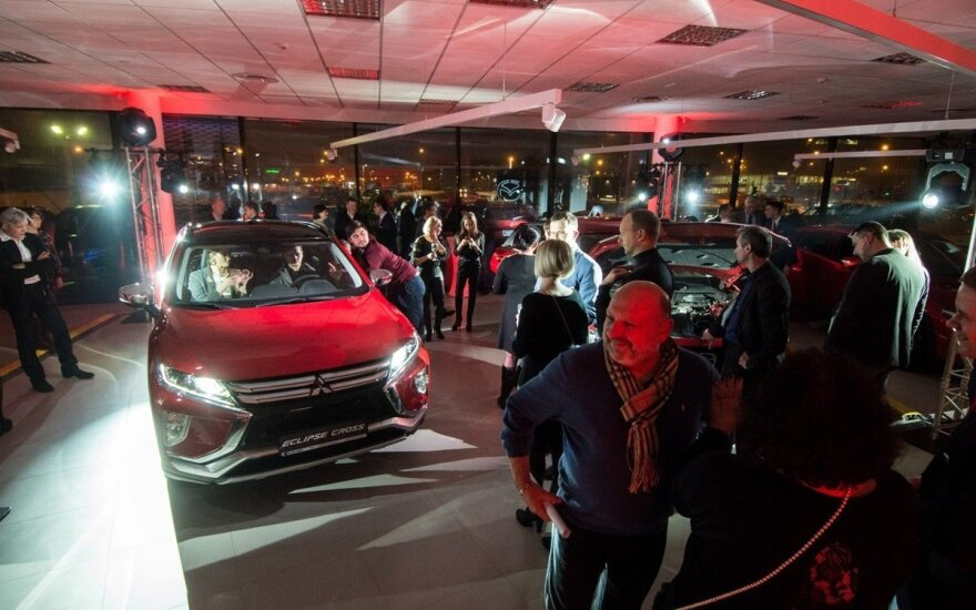 """Mazda"" ir ""Mitsubishi"" automobiliams – atnaujinti namai Vilniuje"