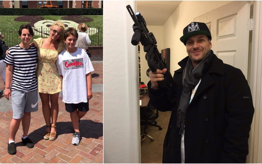 Britney Spears su sūnumis, Kevinas Federline'as