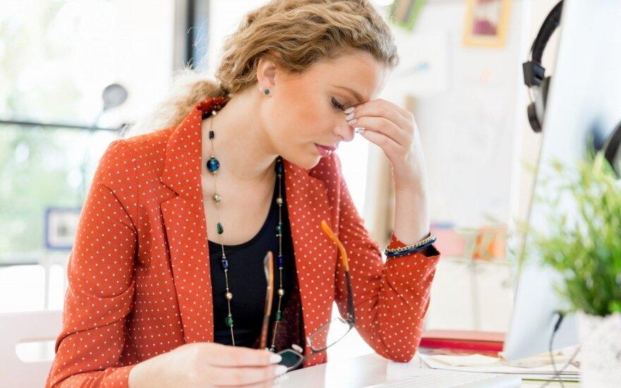 Lėtinio nuovargio sindromas: ką daryti, kad nekiltų rimtų ligų grėsmė