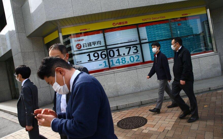 Japonijoje koronaviruso atvejų – daugiau kaip 5 000
