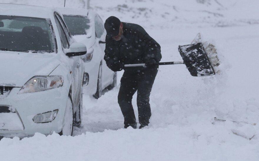 Šaltesnių orų banga artėja prie Lietuvos