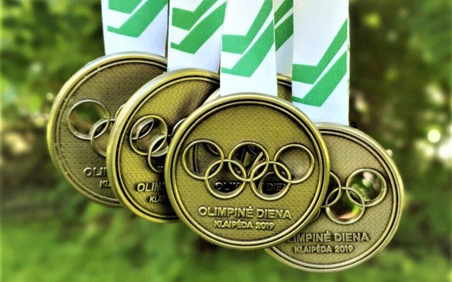 Olimpinės dienos medaliai