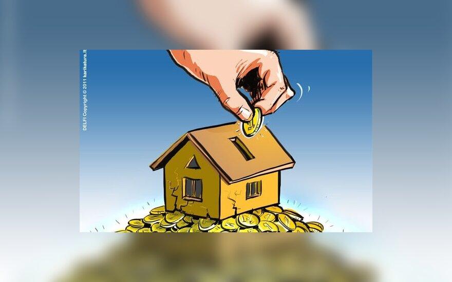 Bankams nori perduoti daugiau nuostolių dėl NT burbulo