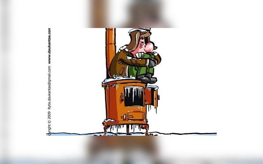 Šiauliuose žmonės 10 metų gyvena daugiabutyje be radiatorių