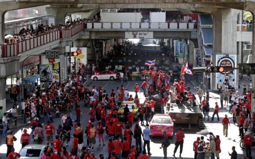Protestai Bankoke (Tailandas)