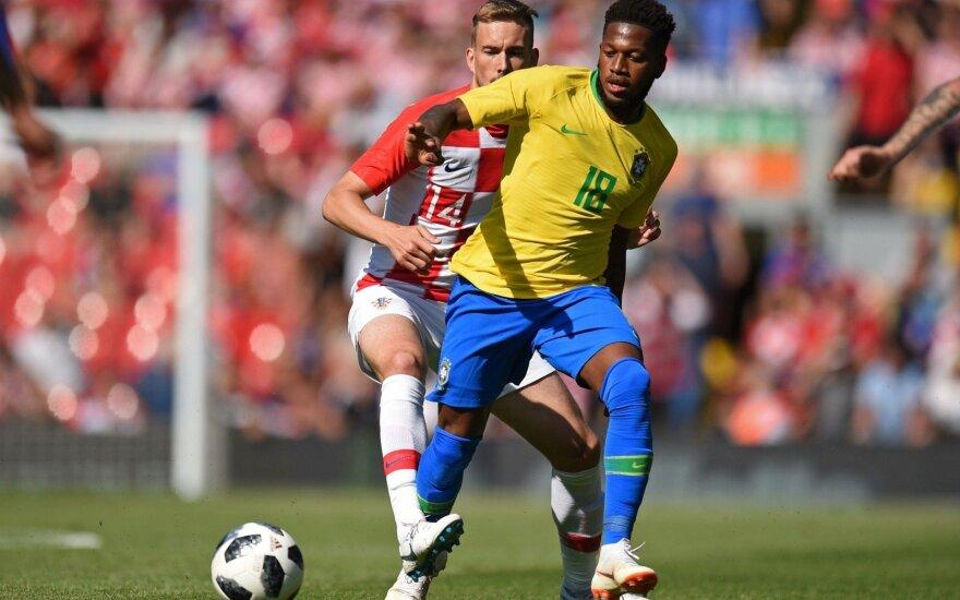 Brazilijos rinktinės saugas Fredas