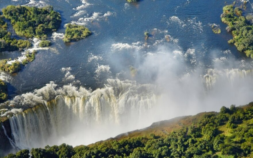 Viktorijos krioklys, Pietų Afrika