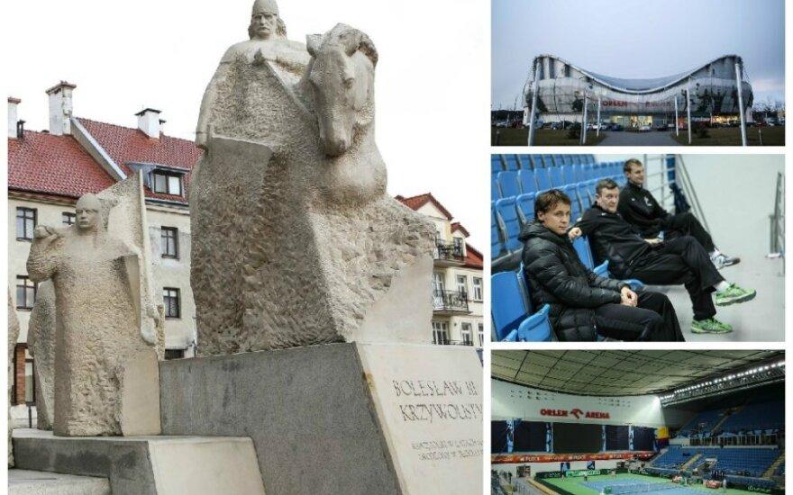 Plocke penktadienį prasideda Deviso taurės mačas tarp Lietuvos ir Lenkijos