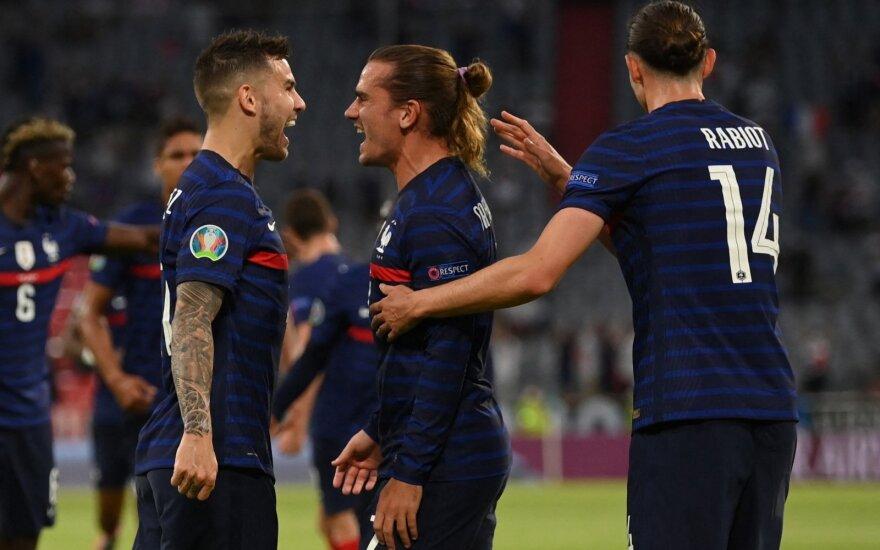 Euro 2020: Prancūzija - Vokietija