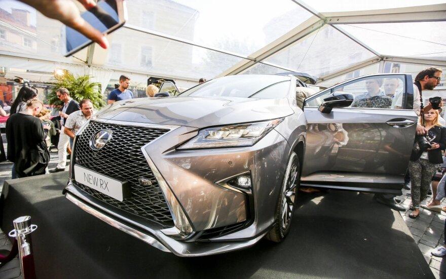"""Lexus RX"" pristatymas"