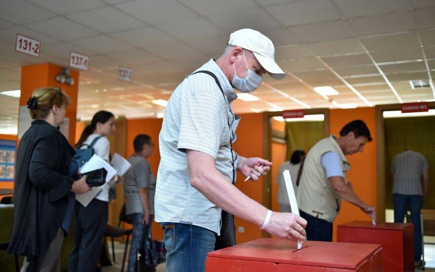 Baltarusijos prezidento rinkimai