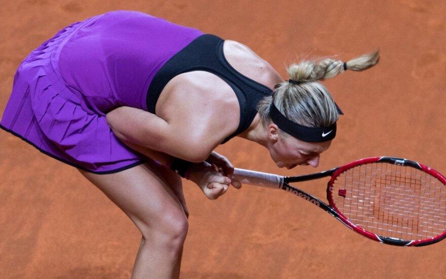 WTA reitingo viršuje – tik vienas pokytis