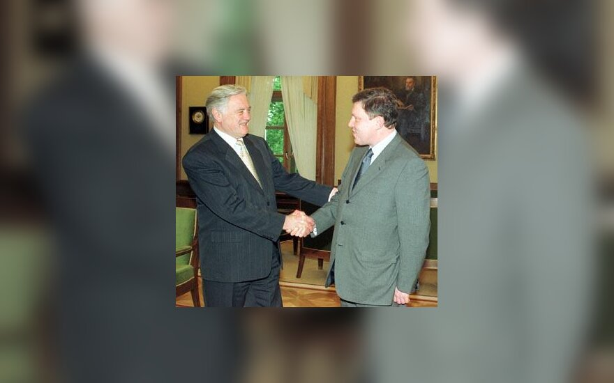 V.Adamkus ir G.Javlinskis