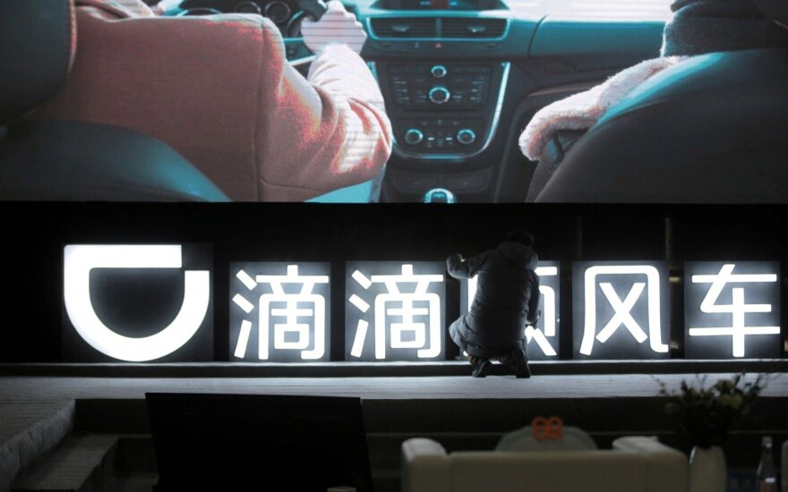 """Kinijos """"Didi"""" dalijimosi automobiliais paslauga"""
