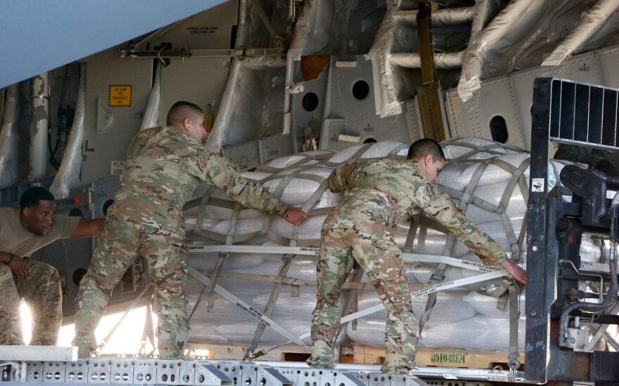 JAV humanitarinė pagalba Venesuelai