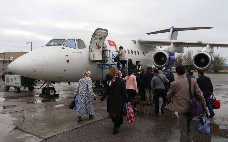 Lietuvis skrido į juodąjį sąrašą įtrauktomis oro linijomis: mums patarė pasikliauti Dievu