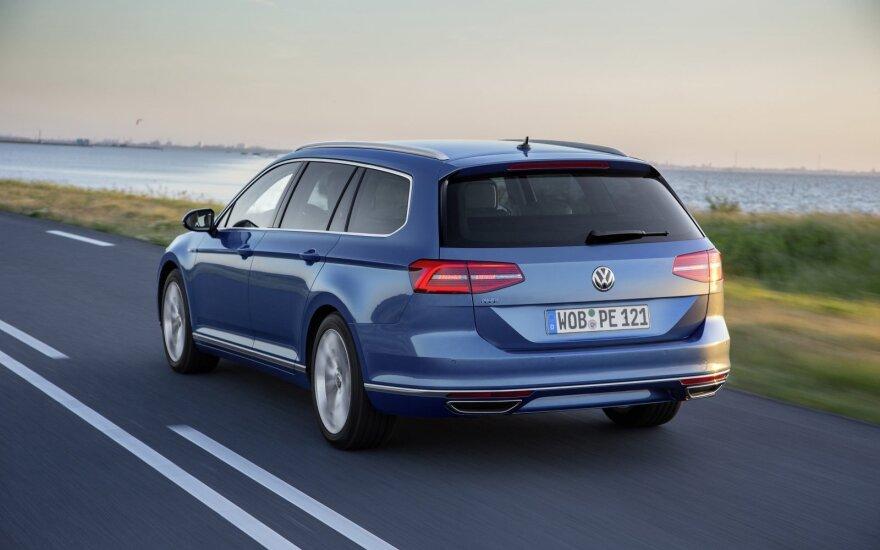 """Pastebimai smuko """"Volkswagen"""", tačiau išaugo """"Audi"""" pardavimai Vokietijoje"""