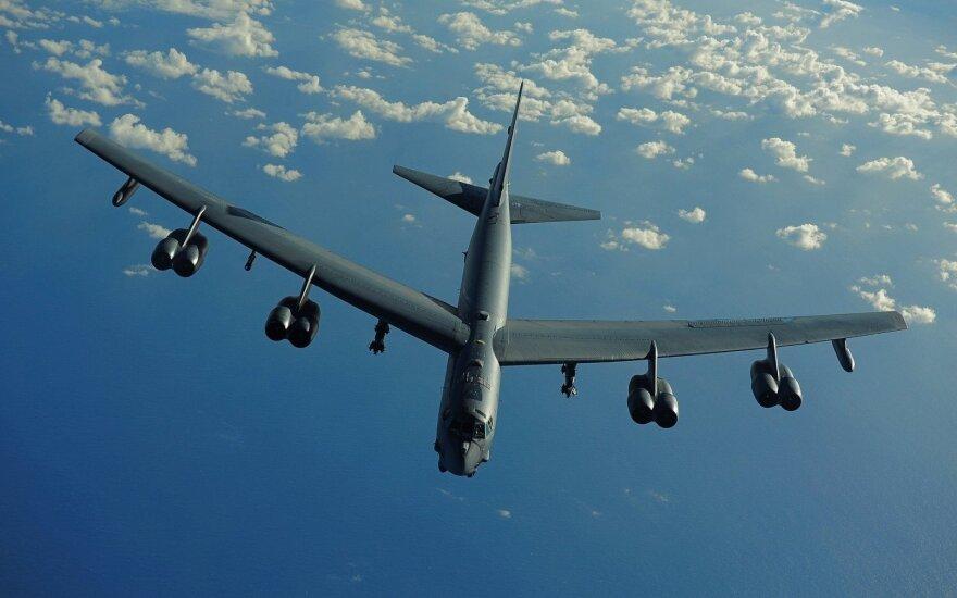 Су-27 дважды за сутки сопровождали американские B-52 над Балтикой