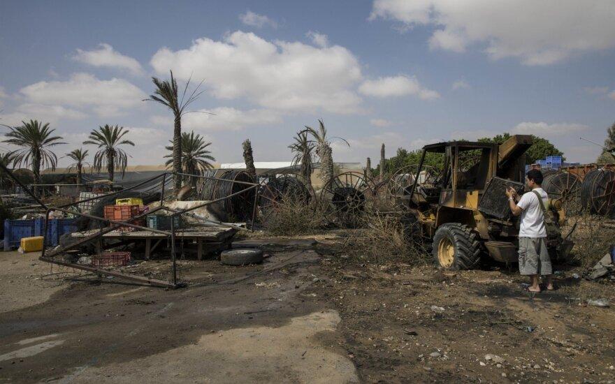 Mirė per protestus Gazos Ruožo ir Izraelio pasienyje pašautas palestinietis