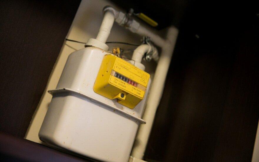 """Bendrovei """"Geros dujos"""" - įspėjimas dėl galimo gamtinių dujų tiekimo leidimo stabdymo"""