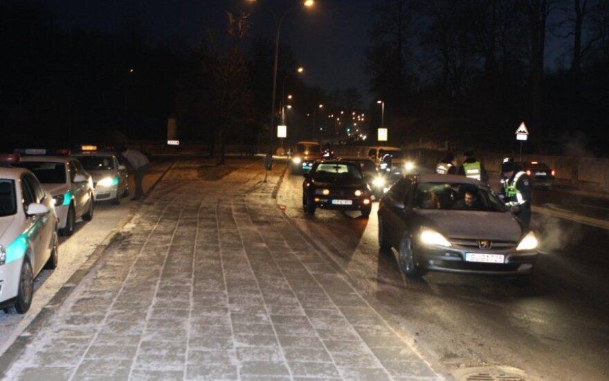 Reidas Vilniuje antrąją Kalėdų dieną - vairuotojai pavyzdingi