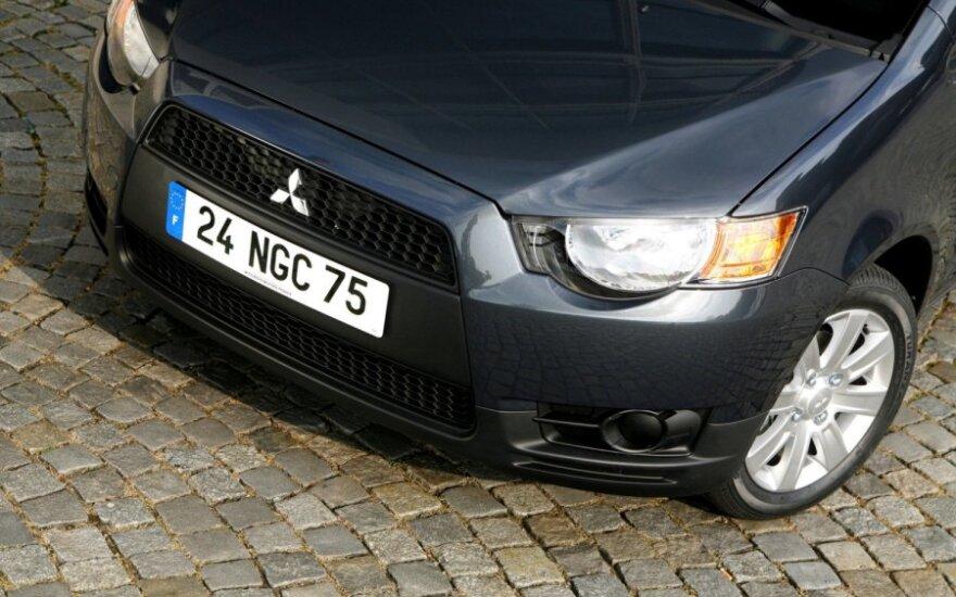 """Mitsubishi"" didina gamybos apimtis"