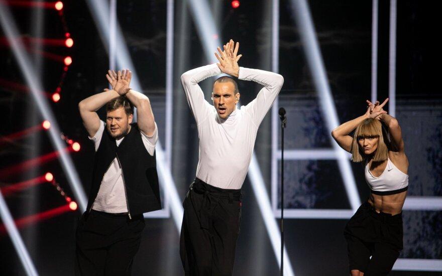 """Neleidus kitąmet """"Eurovizijoje"""" atlikti """"On Fire"""", """"The Roop"""" nusiteikė karingai: jaučiame moralinę teisę atstovauti savo šaliai"""