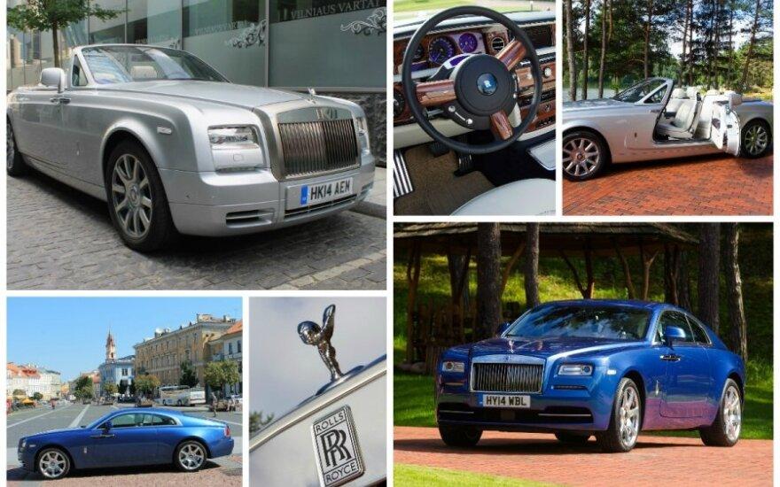 Rolls-Royce Wraith ir Phantom Drophead Coupé