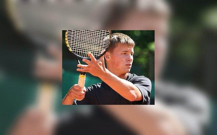 R.Berankio nesėkmė teniso turnyro Dohoje atrankos varžybose