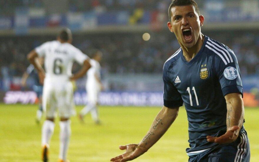 """""""Copa America"""" turnyre – svarbi Argentinos rinktinės pergalė"""