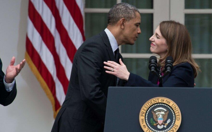 B.Obama skiria S.M.Burwell JAV sveikatos apsaugos sekretore