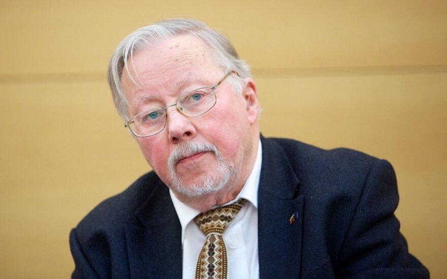 V. Landsbergis. Dėl pabėgėlių, Europos ir chemiko Basharo ateities