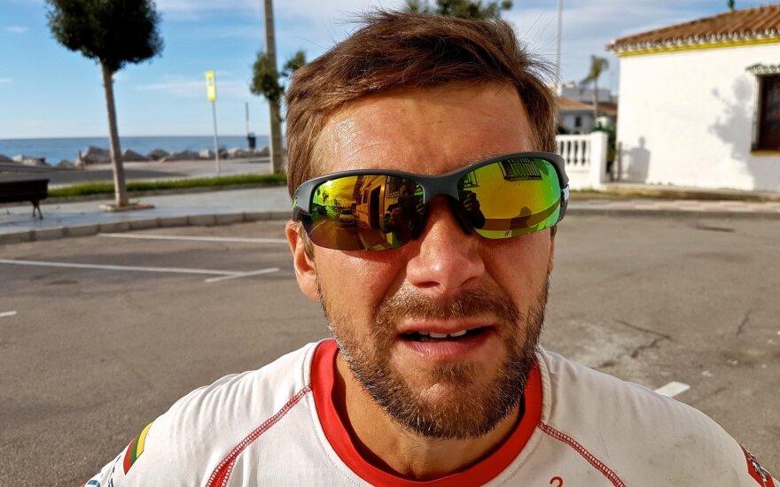 Aidas Ardzijauskas Europoje, bėgimas iš Dakaro į Vilnių