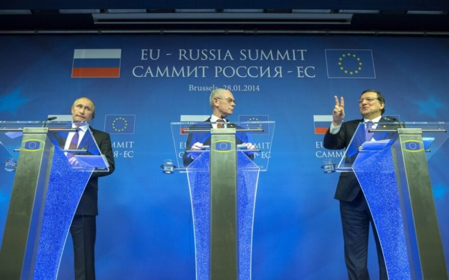 Europarlamentarai susirūpino ES ir Rusijos santykių perspektyva