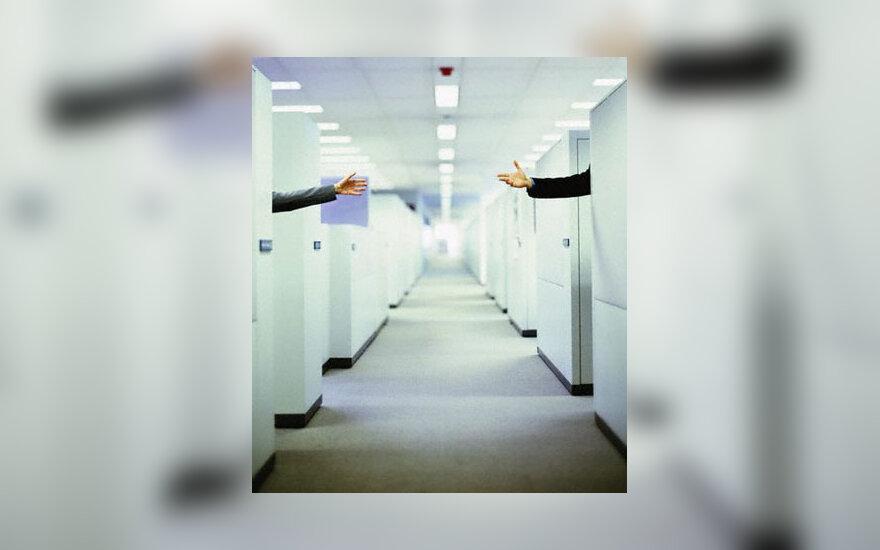 Ofisas, biuras, pora, verslas
