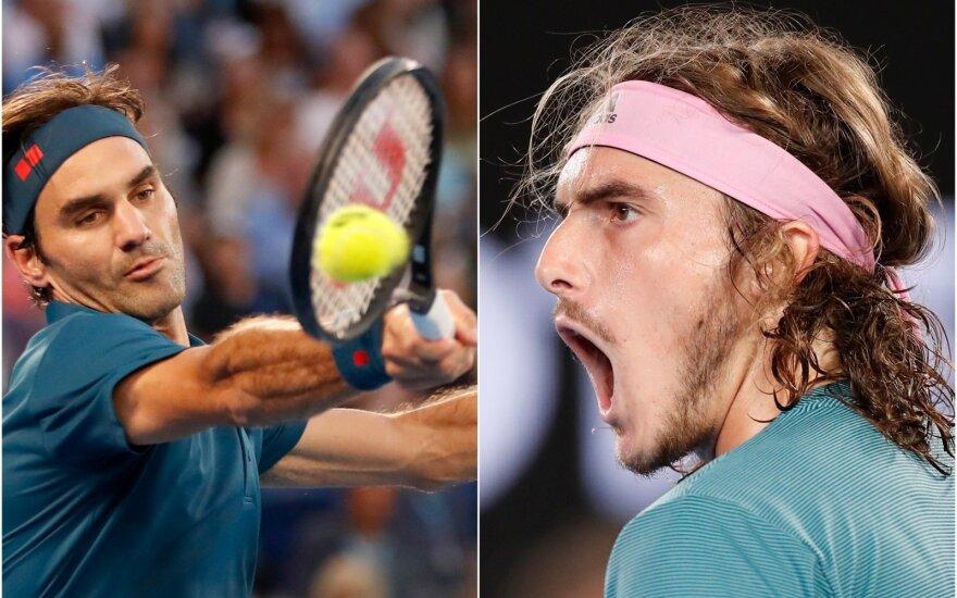 Rogeris Federeris, Stefanos Tsitsipas