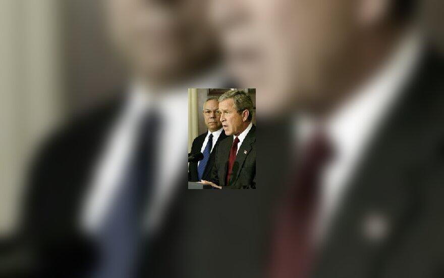 G.W.Bush ir C.Powell