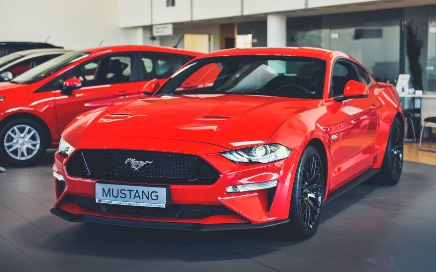 """Naujasis """"Ford Mustang"""" – jau ir Lietuvoje"""