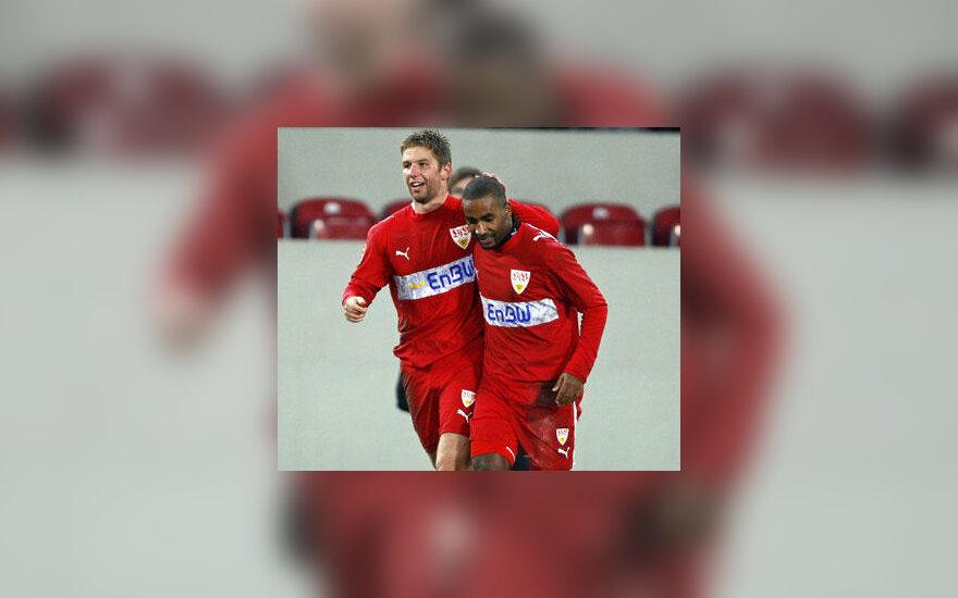 "Komandos draugai sveikina Cacau (""VfB Stuttgart"")"