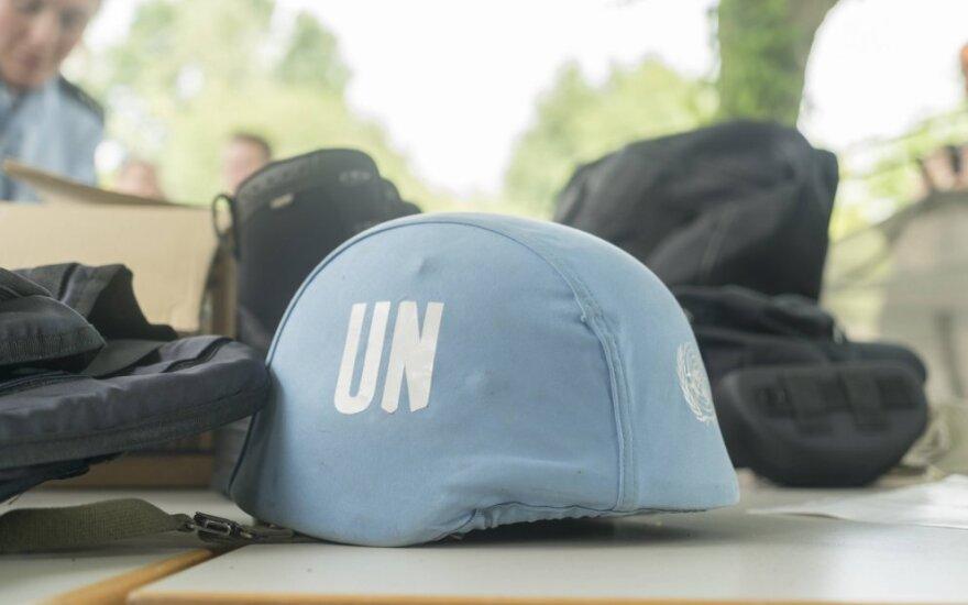 Jungtinių Tautų taikdarių šalmai