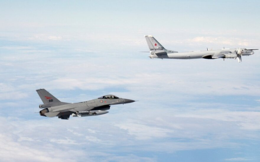NATO fighters took off 21 times last week to intercept Russian aircraft at Baltic states' borders