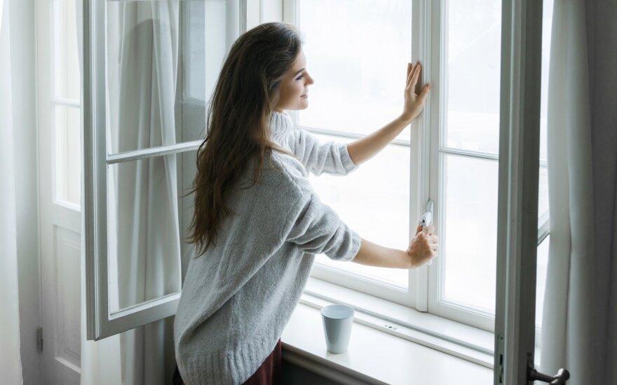 Ekspertės patarimai, kaip efektyviai vėdinti butą