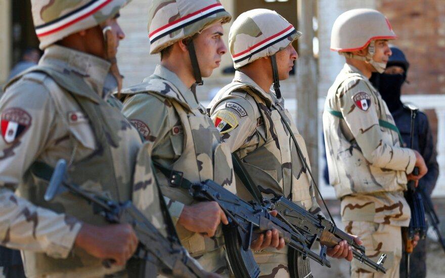 Egipto pajėgos Sinajuje
