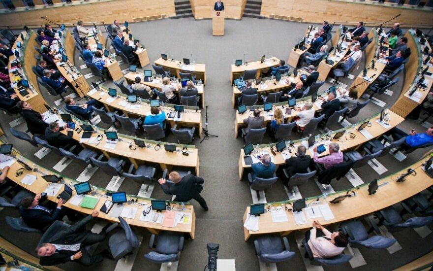 Seimas rinksis į paskutinę šios kadencijos sesiją