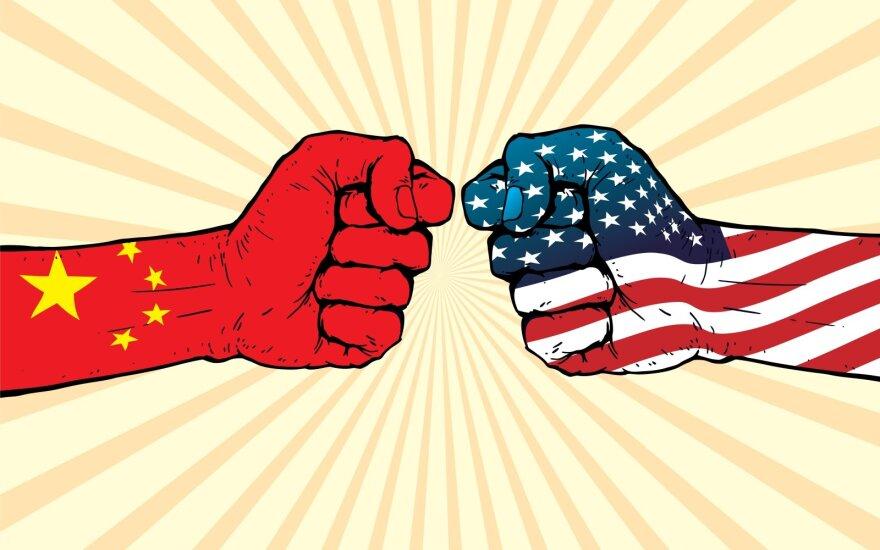 Kinija prieš JAV