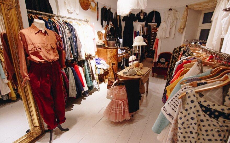 Dėvėti drabužiai Švedijoje