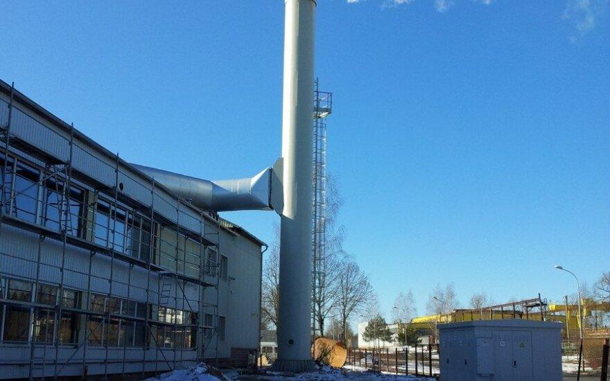 E energija grupės biokuro katilinė Vilniuje