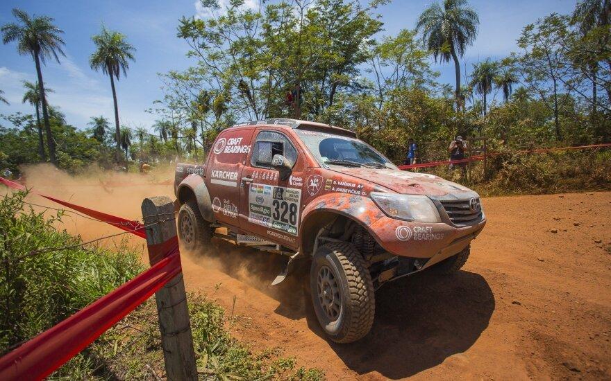 Pirmoji Dakaro diena
