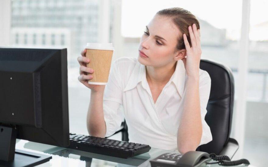 Neįvertinta problema darbe, dėl kurios jaučiamės nuolat pavargę