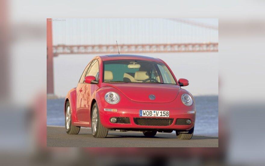 "Atnaujinti ""Volkswagen New Beetle"" ruošiamasi 2012 m."